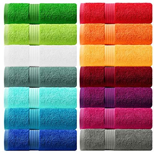 Lashuma Handtuch - Frotteeserie Linz - in 16 Farben und 6 Größen, Farbe:...