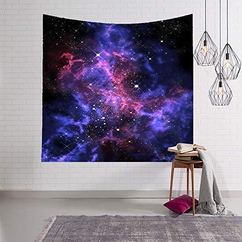 WJH 3D Digital Painting Sky wirbelnden Wandteppich Wandbehang Teppich Strandtuch...