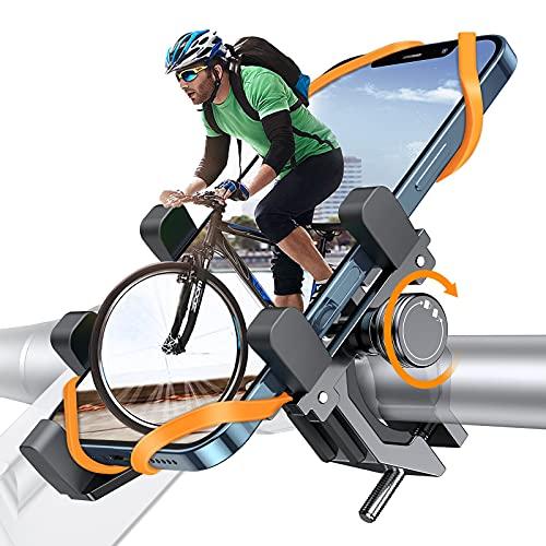 DesertWest Fahrrad Handyhalterung, Luftfahrt-Aluminiumlegierung Motorrad Scooter...