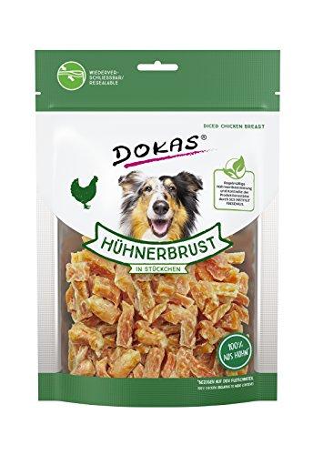 DOKAS Glutenfreier Premium Snack in praktischer Größe für Hunde – Ideal zum...