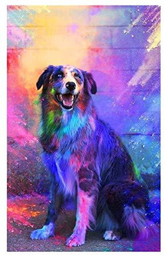 arhujion Diamantkunst 5d DIY Dog Diamant Malerei Kits für Erwachsene und...