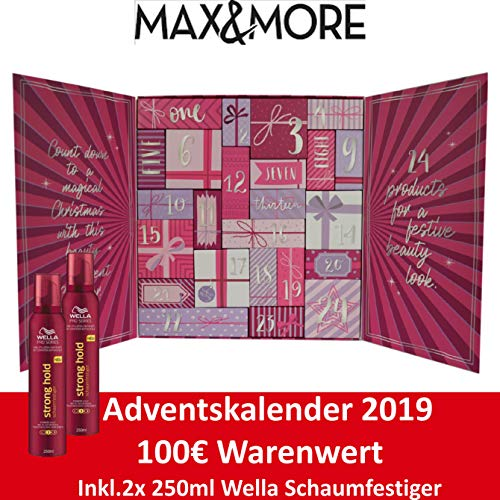 MaxMore Adventskalender 2019 Beauty Advent Kalender für die Frau,...