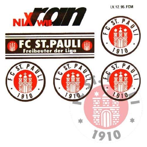FC St. Pauli Aufkleber / Sticker / Gesichtaufkleber TOP
