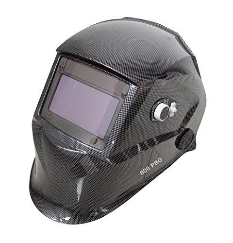 Proteco-Werkzeug® PRO 800 Automatik Schweißhelm XXL Sichtfeld Solar...