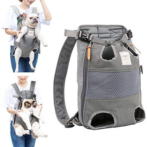 Lampop Haustier-Rucksack für Hunde Verstellbar Sichere Katzen-Vorderseite...