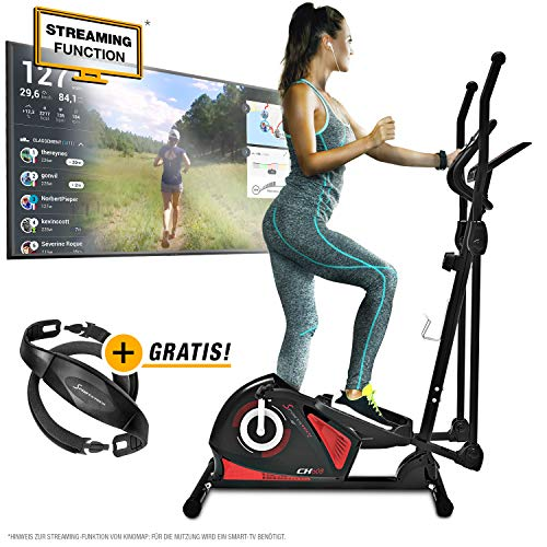 Sportstech CX608 Crosstrainer - Deutsche Qualitätsmarke - Video Events &...