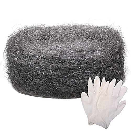 Stahlwoll-Mäuse, grobe Drahtwolle-Füllstoff, DIY-Set, inklusive...