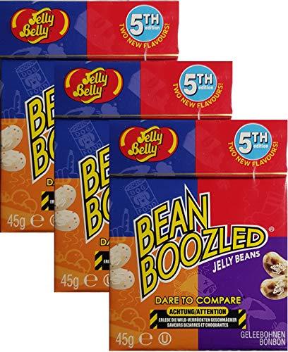 Jelly Belly Bean Boozled Jelly Beans 5th Edition- 45g (3 Stück)