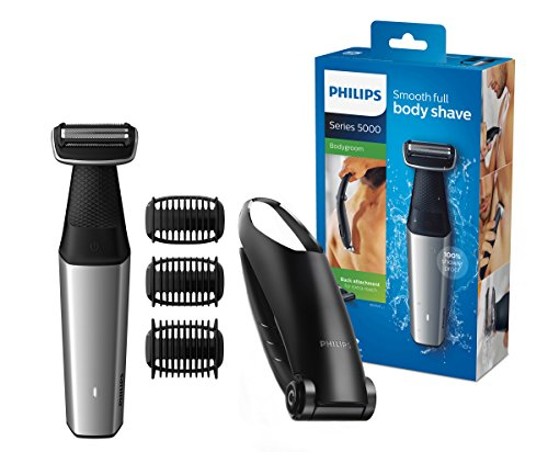 Philips Bodygroom Series 5000 mit Aufsatz für Rückenhaarentfernung BG5020/15...