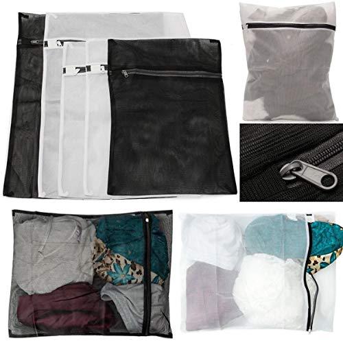 JeanPolly Textilgarne 3 Größen 5Pcs mit Reißverschluss Mesh Wäsche...