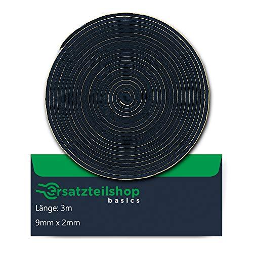 Dichtband/Dichtung 9mm(B) x 2mm(D) zur Montage von Kochfeldern/Ceranfeld |...