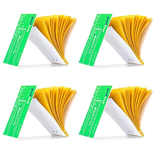4 Packungen pH-Teststreifen, pH Indikator Papier Streifen, pH-Wert Weitbereich...