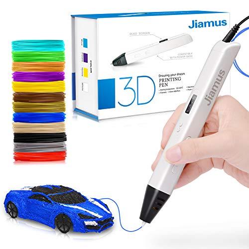 3D Druck Stift mit OLED-Bildschirm, Jiamus intelligente 3D Drucker Zeichnung...