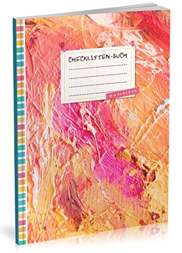 Checklisten-Buch: To Do Listen Planer | Ca. A5 Softcover | 70+ Seiten mit Titel,...