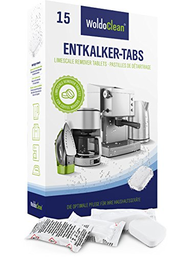 Entkalker Kaffeevollautomat 15 Tabs Entkalkungstabletten für Kaffeemaschine -...