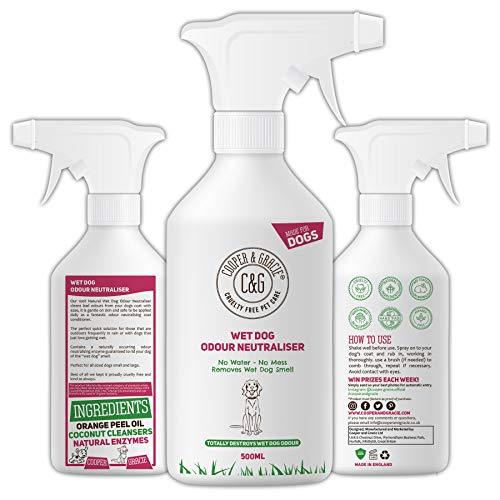 C&G Pets C&G Hunde-Neutralisierer für Nassgeruch, 500 ml, wasserloser...