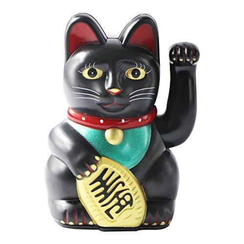 UOOOM Glückskatze Winkekatze Glücksbringer Chinesische Glücks Katze Fengshui...