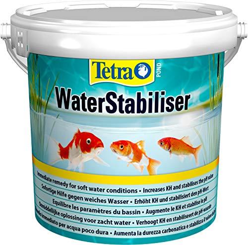 Tetra Pond WaterStabiliser (stabilisert wichtige Wasserwerte, optimiert den KH-...