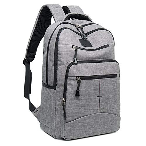 Laptop Rucksack,Wasserabweisend Anti Diebstahl mit Canvas Laptop Daypack Für...