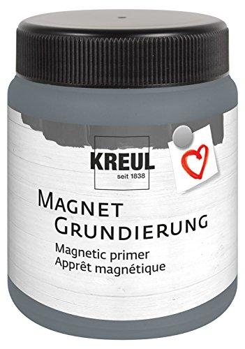 Kreul 76155 - Magnetgrundierung, 250 ml Dose für ca. 0,5 qm, Acrylgrundierung...