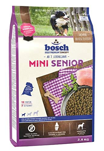 bosch HPC Mini Senior | Hundetrockenfutter für ältere Hunde kleiner Rassen...