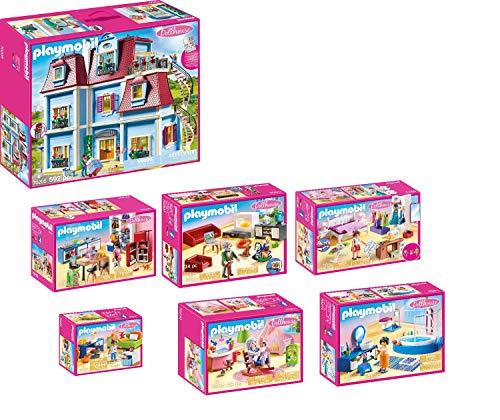 PLAYMOBIL® Puppenhaus-Set (Artikel 70205,70206,70207,70208,70209,70210,70211)