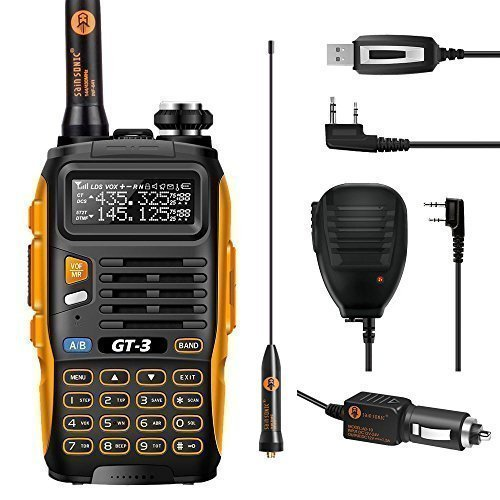 BAOFENG Mark II GT-3 UHF/VHF 2m/70cm Dual Band Funkgerät Walkie Talkie +...