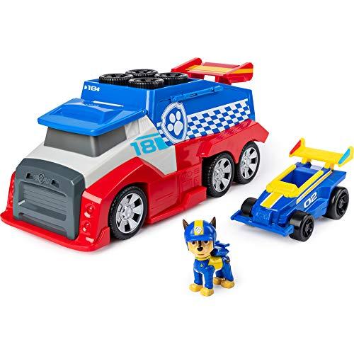 PAW Patrol Ready, Race, Rescue Mobile Pit Stop Team-Fahrzeug inkl. Chase Figur &...