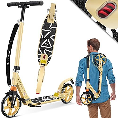 KESSER® Cityroller Scooter 205mm Räder PU Big Wheel - Pro-S Tretroller mit...