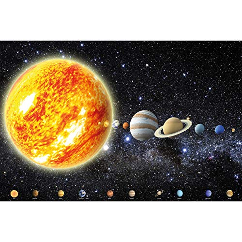 GREAT ART® Kinder Poster – Solar System – Cosmos Space Planeten Earth...