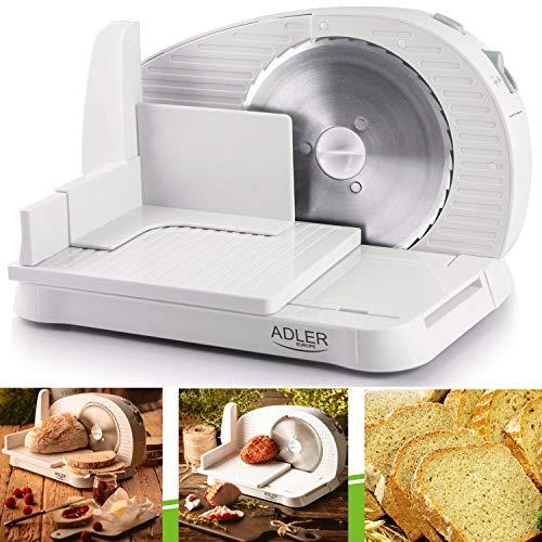 Allesschneider Brotschneidemaschine Brotschneider Aufschnitt Wurst 200W Klappbar
