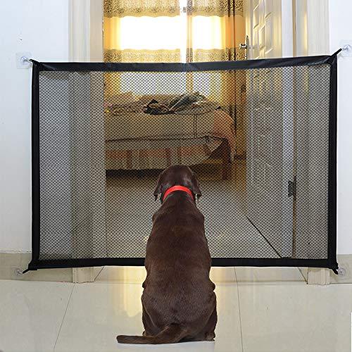 U-picks Hundebarrieren, Magic Gate Faltbar Hunde Türschutzgitter Tür- &...
