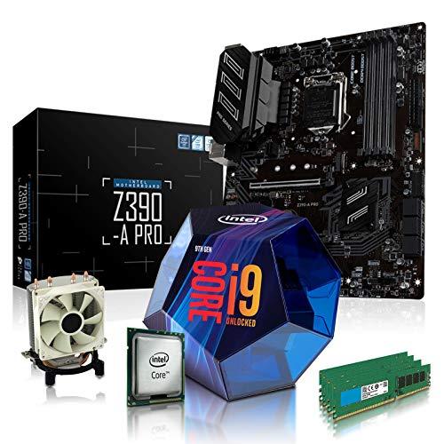 dcl24.de PC Aufrüstkit [12481] Intel i9-9900KF 8x3.6 GHz - 32GB DDR4, Z390-A...