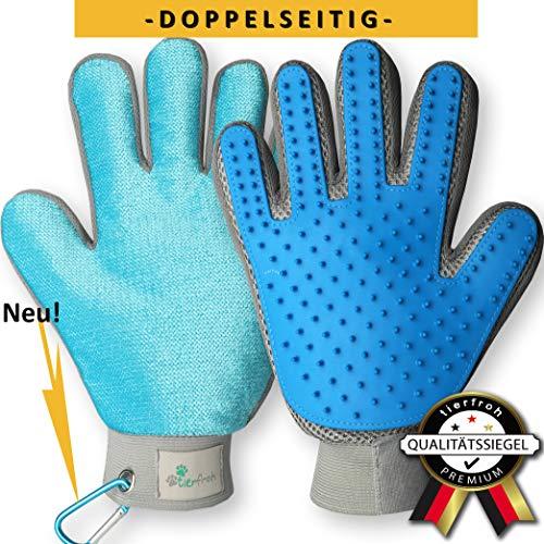 tierfroh Bewährter Fellpflege Handschuh für Hunde und Katzen mit...