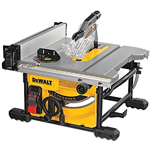 DeWALT DWE7485-QS Tischkreissaege 210 mm, 1850 W, Schwarz/Gelb,...