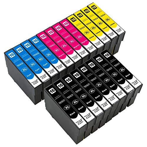 ESMOnline kompatible Druckerpatronen als Ersatz für Epson 016/016XL (Schwarz,...