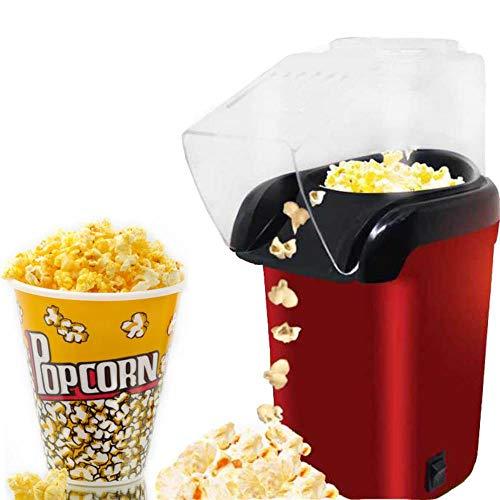 LWLJCFFF Mini Haushalt Elektrische Popcornmaschine Automatische Red Corn Popper...