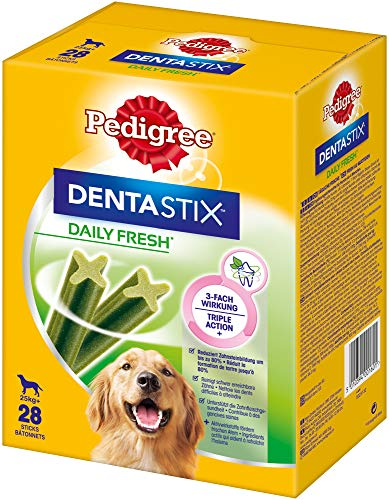 Pedigree DentaStix Daily Fresh Zahnpflegesnack für große Hunde –...