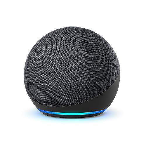 Echo Dot (4. Generation) | Smarter Lautsprecher mit Alexa | Anthrazit
