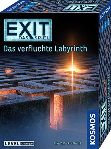 KOSMOS 682026 EXIT - Das Spiel - Das verfluchte Labyrinth, Level: Einsteiger,...