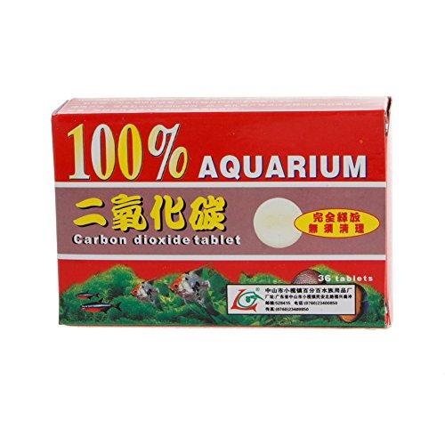 Biniwa Pflanzentabletten, CO2, Kohlendioxid, für Pflanzen, Aquarium, Aquarium,...