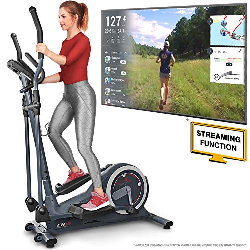 Sportstech CX625 Crosstrainer - Deutsche Qualitätsmarke - mit Video Events &...