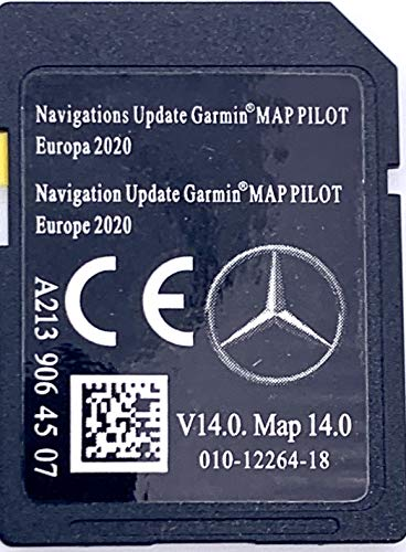 SD Karte Mercedes Garmin MAP Pilot Europe 2018-2019 - STAR2 - A2139061307
