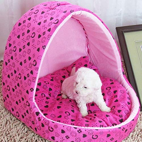 WangLiJiaFDSGB Hund, Katze, warme kreative Jurte Form Haustier Luxus Luxus Korb...