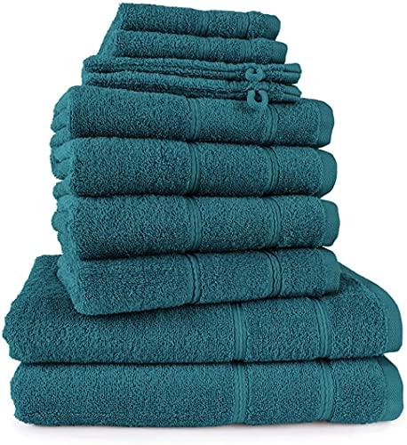 Merkanta Handtuch Set   10 teilig   2 Gästetücher 4 Handtücher 2 Duschtücher...
