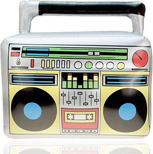 TK Gruppe Timo Klingler Aufblasbarer Retro Ghettoblaster Hip Hop Radio Walkman...