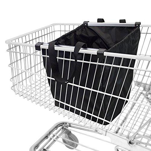achilles Easy-Shopper Alu, Faltbare Einkaufswagentasche, Einkaufstasche passend...