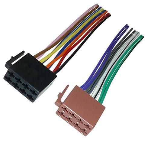 Adapter Universe DIN ISO Auto Radio Adapter Kabel Stecker Strom Lautsprecher 16...