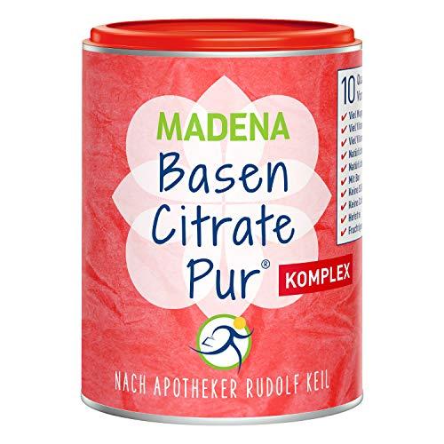 MADENA Premium BasenCitrate Pur Komplex | nach Apotheker Rudolf Keil |...