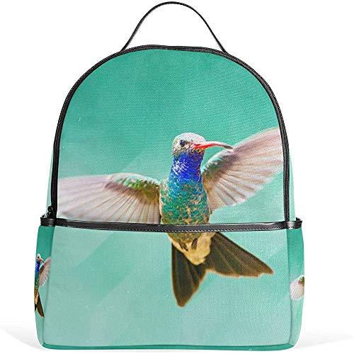 Kolibri Mexiko Blumen Schulrucksäcke für Jungen Mädchen Bookbag BPK-038